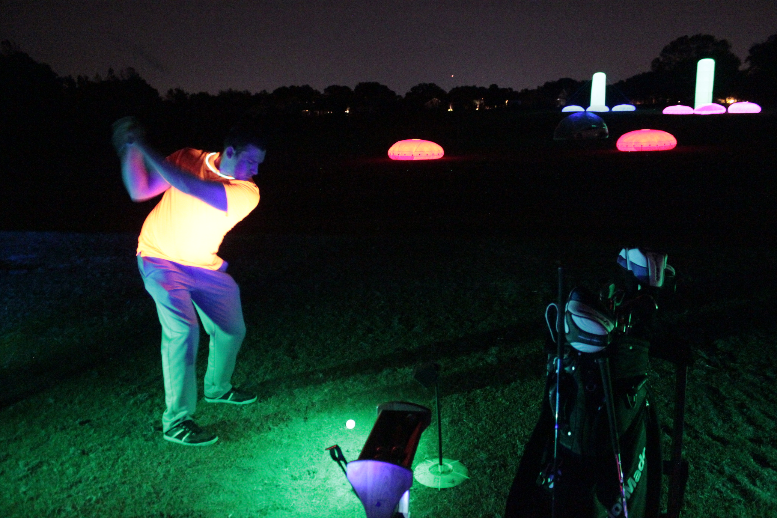 the best night golf balls